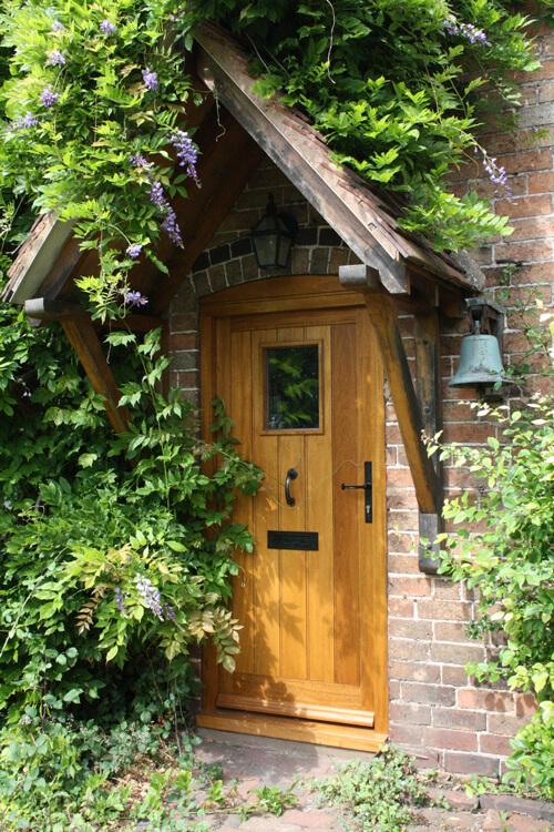Wyre Forest Woodcraft Door