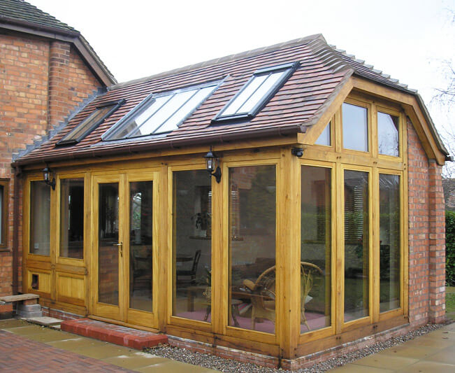 Wyre Forest Woodcraft timber frame